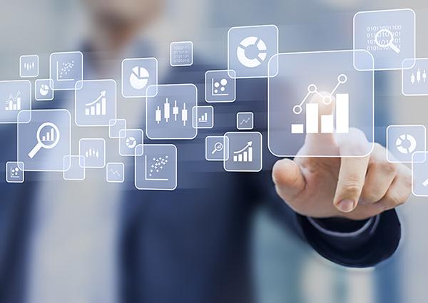 A business man selecting Digital Marketing Strategy
